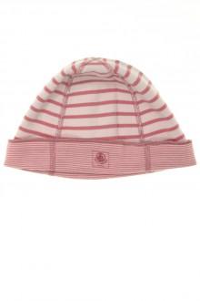 vêtements bébés Bonnet rayé en coton Petit Bateau 18 mois Petit Bateau