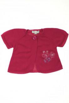 vêtements bébés Gilet manches courtes Grain de Blé 3 mois Grain de Blé