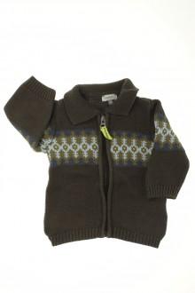 Habit de bébé d'occasion Gilet Jacquard Timberland 6 mois Timberland
