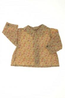 Habits pour bébé Blouse fleurie Bonpoint 3 mois Bonpoint