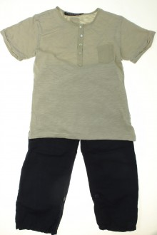 vetement enfant occasion Ensemble pantalon en tee-shirt Le Phare de la Baleine 6 ans Le Phare de la Baleine