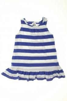 habits bébé occasion Robe de plage rayée Zara 9 mois Zara