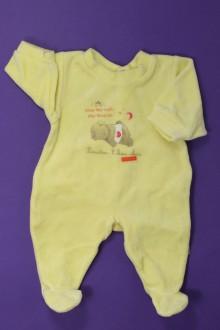vetement bébé d occasion Pyjama/Dors-bien en velours - Prématuré Absorba Naissance Absorba