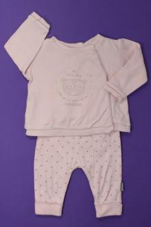 Habit de bébé d'occasion Ensemble tee-shirt et legging Absorba 3 mois Absorba