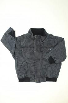 habits bébé Blouson à fines rayures Grain de Blé 18 mois Grain de Blé