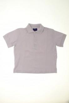 vêtements occasion enfants Polo manches courtes Cyrillus 4 ans Cyrillus