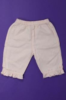 Habit de bébé d'occasion Pantalon en lin Cyrillus 9 mois Cyrillus