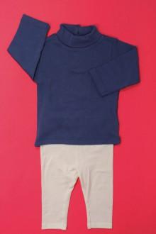 Habit d'occasion pour bébé Ensemble sous-pull et legging DPAM 3 mois DPAM