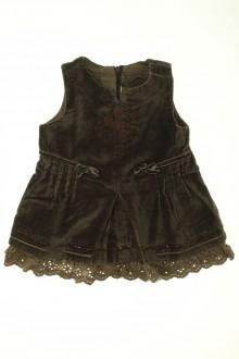 vêtements bébés Robe en velours ras Jean Bourget 3 mois Jean Bourget