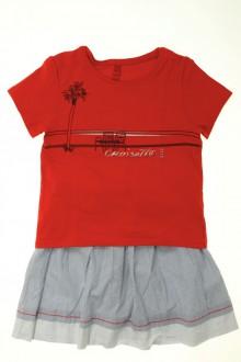 vêtements occasion enfants Ensemble jupe et tee-shirt Elle 3 ans Elle