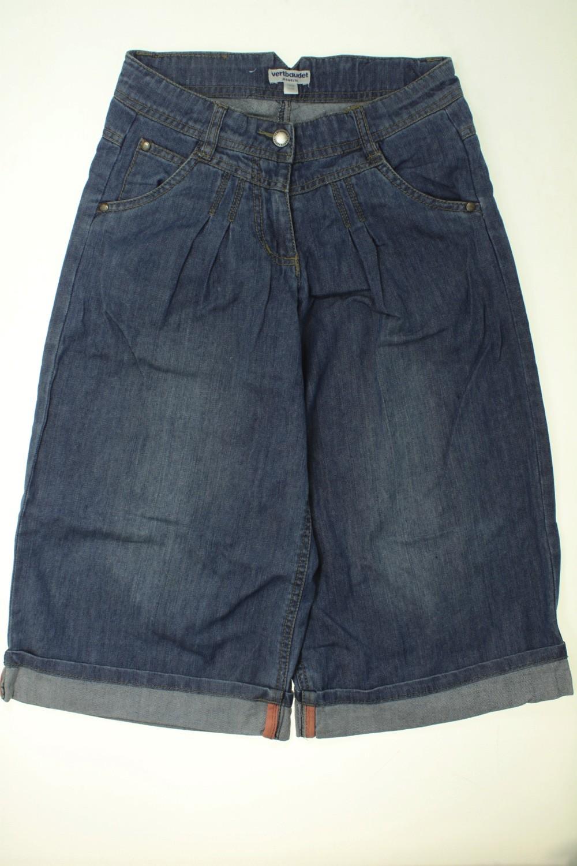 951ac6d9c5114 Jupe culotte en jean Vertbaudet Fille 10 ans d occasion sur ...