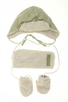 vêtements bébés Ensemble chapka, écharpe et moufles Catimini 6 mois Catimini