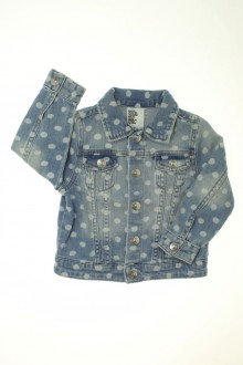vetement marque occasion Veste en jean à pois H&M 2 ans H&M