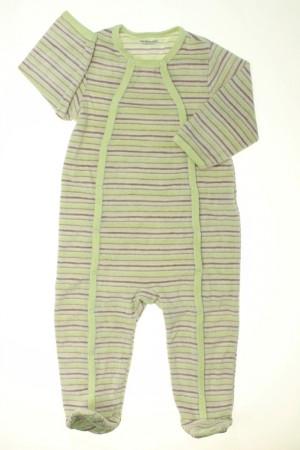 Pyjama Dors-bien rayé en velours Vertbaudet Garçon 18 mois d ... f202b3a7eeb