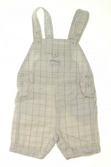 vêtements bébés Salopette courte à carreaux Sergent Major 6 mois Sergent Major