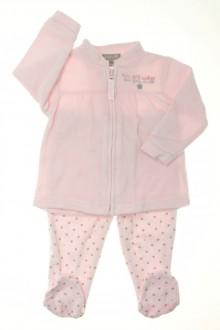 habits bébé Ensemble en velours sweat et pantalon Grain de Blé 6 mois Grain de Blé