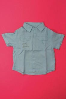 vêtements bébés Chemisette en lin Obaïbi 18 mois Obaïbi