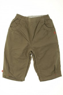 habits bébé occasion Pantalon doublé Obaïbi 12 mois Obaïbi