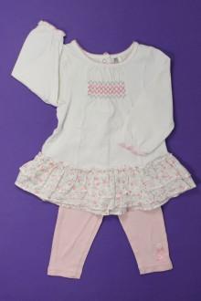 Habits pour bébé Ensemble robe et legging Orchestra 9 mois Orchestra