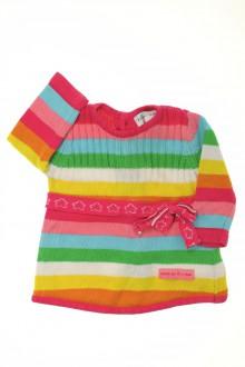 vêtements bébés Robe rayée Agatha Ruiz de la Prada 3 mois Agatha Ruiz de la Prada