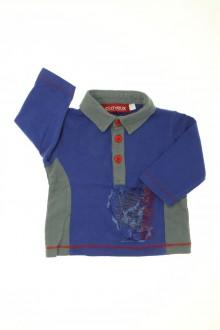 vêtements bébés Polo manches longues Clayeux 6 mois Clayeux