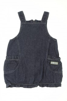 vetements d occasion bébé Robe en jean doublée Sergent Major 3 mois Sergent Major