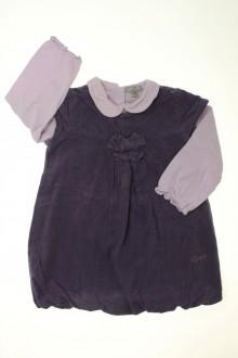 vêtements bébés Ensemble robe en velours fin et tee-shirt Grain de Blé 18 mois Grain de Blé