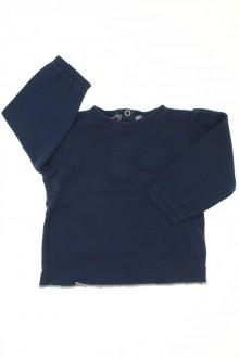 Habits pour bébé occasion Tee-shirt manches longues DPAM Naissance DPAM
