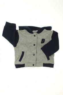 Habit d'occasion pour bébé Sweat Teddy Bout'Chou 6 mois Bout'Chou
