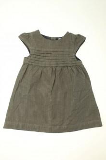 vêtements bébés Robe brillante à chevrons Obaïbi 12 mois Obaïbi