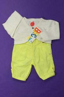 Habit d'occasion pour bébé Ensemble pantalon et boléro - NEUF Tape à l'œil 3 mois Tape à l'œil