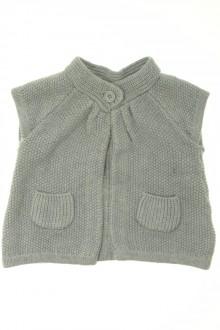Habits pour bébé occasion Gilet manches courtes Bout'Chou 9 mois Bout'Chou