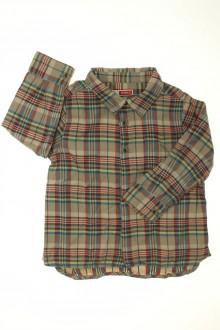 habits bébé occasion Chemise à carreaux DPAM 18 mois DPAM