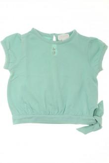 Habits pour bébé occasion Tee-shirt manches courtes Jacadi 12 mois Jacadi