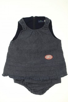 vetements d occasion bébé Robe en jean et bloomer Sergent Major 1 mois Sergent Major