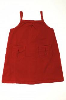 Habit de bébé d'occasion Robe en jean de couleur Petit Bateau 18 mois Petit Bateau