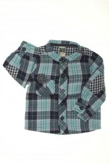 habits bébé occasion Chemise à carreaux Tape à l'œil 9 mois Tape à l'œil
