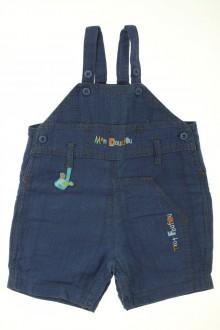 vêtements bébés Salopette courte