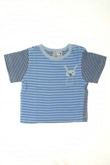 Habits pour bébé Tee-shirt rayé manches courtes Tout Compte Fait 3 mois Tout Compte Fait