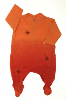 Habit d'occasion pour bébé Pyjama/Dors-bien en coton tie and dye Marèse 3 mois Marèse