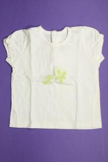 vetements d occasion bébé Tee-shirt manches courtes Natalys 12 mois Natalys
