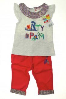 vetements d occasion bébé Ensemble pantalon et débardeur - NEUF DPAM 9 mois DPAM