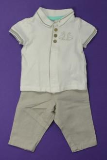 habits bébé occasion Ensemble pantalon et tee-shirt Orchestra 3 mois Orchestra