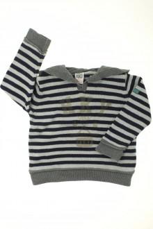 Habits pour bébé occasion Pull rayé à capuche Zara 18 mois Zara