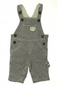vetements d occasion bébé Salopette en velours fin Taille 0 3 mois Taille 0
