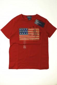 vetements enfants d occasion Tee-shirt manches courtes - NEUF Ralph Lauren 6 ans Ralph Lauren