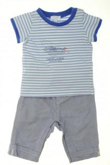 habits bébé Ensemble pantalon et tee-shirt Jacadi 6 mois Jacadi