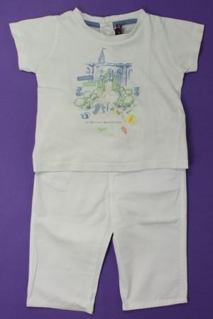 eea79b05087c2 Ensemble pantalon et tee-shirt Sergent Major Garçon 9 mois d ...