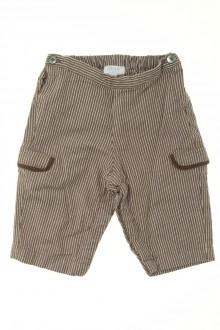 Habit d'occasion pour bébé Pantalon rayé Jacadi 6 mois Jacadi