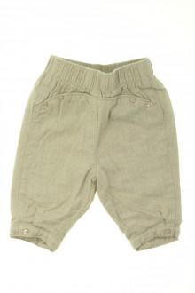 habits bébé occasion Pantalon doublé Cyrillus 3 mois Cyrillus